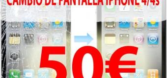 Cambiar Pantalla iPhone en Almeria